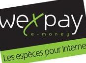 EXPAY monte puissance pour développer paiement espèces Internet WEXPAY