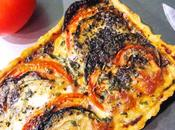 Tarte courgettes, tomates mozza Tartes Kluger
