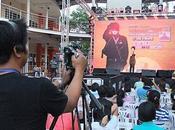 octobre 2011. Thailande. Concours chant Udonthani.