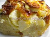 Clafoutis pommes, amandes fève tonka