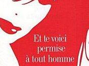 """voici permise tout homme"""" d'Eliette Abecassis"""