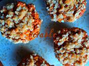 Muffins délice citrouille érable pommes