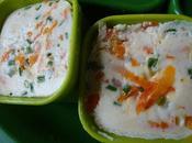 Frittatas carotte parmesan ciboulette