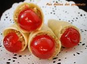 Cornets fruits secs