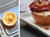 Pomme four, caramel fleur faisselle
