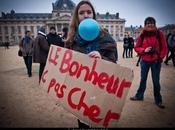 Manifestation Indignés. (Marche 99%). Novembre, Paris.