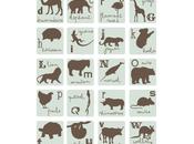 Nouveauté Sticker ABCDaire Animaux