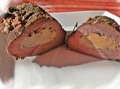 Magret canard farci foie gras