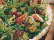 Magret fumé salade fruits d'automne