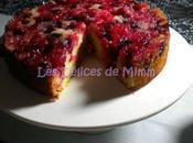 Gâteau Tatin cranberries fève tonka