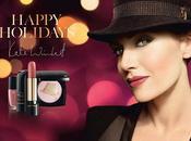 Golden hat, collection Noël Kate Winslet pour Lancôme
