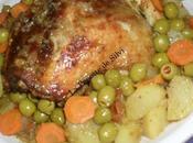 Poulet roti marocaine