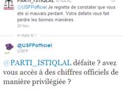 mauvaises stratégies partis marocains Twitter