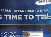 Publicité Samsung Australie pour Galaxy tablette qu'Apple essayé d'interdire