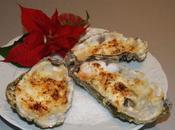 huîtres gratinées créme, piment d'Espelette