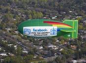 Facebook passe vert, c'est Greenpeace like