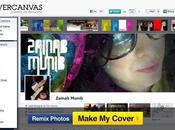 Créer photo personnalisée pour Facebook timeline avec CoverCanvas
