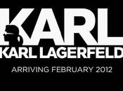 Karl Lagerfeld lance collection on-line