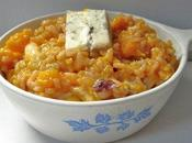 Risotto courge butternut gorgonzola