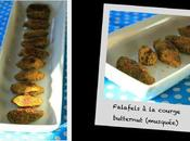 Falafels courge butternut (musquée)