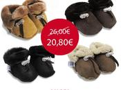 SOLDES -20% chaussons mouton