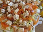 Salade vitaminee poulet