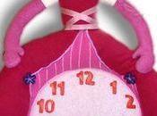 Horloge doudou princesse