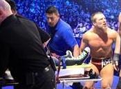 Show percute lors combat contre Daniel Bryan