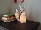 Petite lampe renard coudre… trop chou