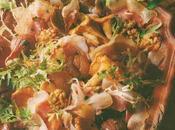 Salade mesclun champêtre ventrêche roulée