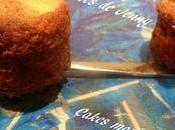 Mini cakes marbrés chocolat