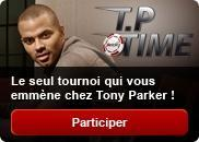 Envie jouer poker contre Tony Parker