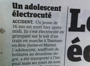 adolescent mort (selon Metro) mais jours sont danger