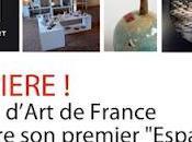 """PORCELAINE """"l'ESPACE"""" ATELIERS d'ART FRANCE RÉGION Rablay-sur-Layon"""