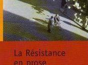 Résistance prose mots pour résister