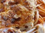 Escalope Dinde pannée Tomates séchées Parmesan