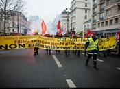Manifestation pompiers. Paris 15/02/12.