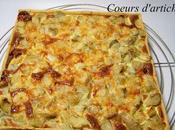 Tarte Lardons Coeurs d'artichauts
