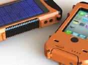 Aqua coque Iphone ultrarésistante solaire
