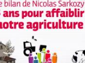 Vidéo bilan Nicolas Sarkozy, pour affaiblir notre agriculture»