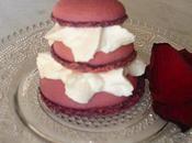 Religieuse macarons rose