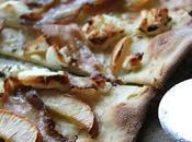 Pizza pâte fine façon