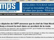 Nicolas Sarkozy defaut d'être mort comme annoncé l'est juste rire [Vidéo]