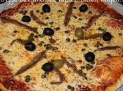 Pizzas câpres anchois, concours papillotes
