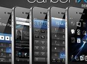 CarbonX Pro, thème exclusivement réservé l'iPhone 4S...