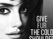 Penélope Cruz tourne fourrure coté PETA