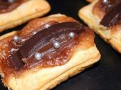 Tartelette creme marron calisson chocolat