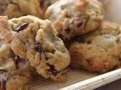 Cookies moelleux cranberries noix pécan chocolat blanc