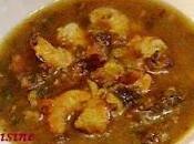 Soupe chinoise cresson crevettes