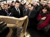 François Hollande parle recherche d'entreprises innovantes
